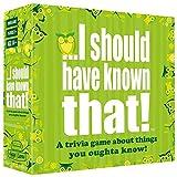 Aozu Familienspiele für Erwachsene und Jugendliche Should Have Known That! Trivia-Spiel, Deck-Kartenspiele-Spiel Kinder-Brettspiel und Party-Brettspiel und Party-Spiel