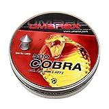 Umarex, Spitzkopf, 4,5mm für Diabolo Cobra Luftpistolen, super perforierend, 500 Stück