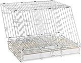 Papageienkäfig Kaninchen Käfig großer Werbe-Flug Käfig Taube Käfig Draht Verschlüsselung,White