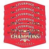Liverpool Champions Gesichtsmaske, 5-teiliges Set