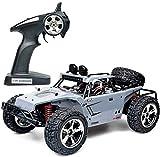 FZDLLFang Kinder Geschenke Spielzeug, Remote Control All-Terrain Climbing Wüste Geländewagen 4WD High Speed RC Buggy Kinder Spielzeug Fahren Auto Doppel Motoren Antriebs 410x220x165MM