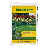 Beckmann Rasendünger Plus Unkrautvernichter, 10 Kg Beutel