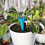 WWWL Pflanzenbewässerungsgerät 12Pcs einstellbare Tropf Bewässerung Pflanze Wasserspender automatische Bewässerung Tropftropfen Gerät System Indoor Haushalt 12pcsRandom