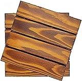 Terrassenfliesen Terrassendielen Balkonfliesen Patio-ineinandergreifende Holzfliesen-Bodenbelag-Deckfliese, Massivholz-Deckfliesen Patio, WPC-Fliesenboden GCSQF210716