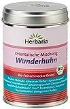 Herbaria 'Wunderhuhn' Orientalische Gewürzmischung für Geflügel, 1er Pack (1 x 80 g Dose) - Bio