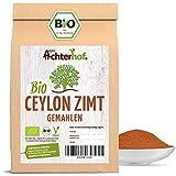 Bio Ceylon Zimt gemahlen (250g) mit wenig Cumarin in premium Qualität   100% ECHTES Bio Ceylon Zimt Pulver