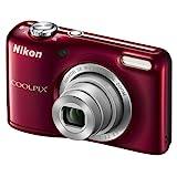 Nikon Coolpix L27 Digitale Kompaktkamera (16,1 Megapixel, Display 2,7 Zoll) Display, 5-Fach Opt. Zoom, Rot