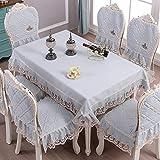 Rechteckige Tischdecke Waschbare Baumwollwäsche Tischdecke Stuhl-Abdeckung Baumwolle und Leinen Haushalt Wohnzimmer Wohnzimmer Rechteckige Tischdecke Tischdeckenstoffe Massivholz-Stuhl-Abdeckung