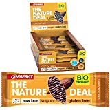 ENERVIT Nature Deal Raw Bar | Veganer Energie Riegel aus natürlichen Zutaten | Energy Riegel komplett Glutenfrei und Laktosefrei | Power Riegel mit max. 5 Zutaten (Cacao Vibes, Vorteilspack à 20x30g)