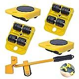 Möbelerhöhung mit Rollen, 200 kg/440 l, Werkzeug-Set, schwere Möbelbewegung, für Sofa, Sessel und Kühlschrank von Poweka