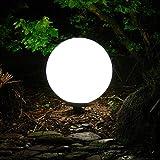 Dapo Kugelleuchte Marlon 30cm IP44 Garten-Außen-Dekorations-Leuchte-Lampe Boden-Terrassen-Balkon-Blumentopf-Blumenbeet-Teichrand-Treppen-Wege-Leuchte-Lamp