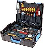GEDORE L-BOXX 136 - 36 teilig / Umfangreicher Elektriker Werkzeugkasten mit Check-Tool-Einlage / VDE Werkzeugset / Profi Werkzeuge für jede Gelegenheit