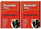 Brumolin Ultra Rattenköder 2 x 500g
