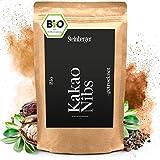 BIO Kakaonibs roh 1000g von Steinberger | Kakao Nibs aus peruanischen Kakaobohnen | Kakaonibs im wiederverschließbaren Aromapack