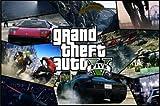 panggedeshoop Grand Theft Auto V Videospiel GTA 5 Kunstplakat Dekorative Wandmalerei Bild 40X50Cm -Sz4459