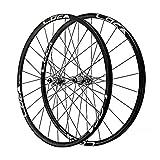 LvTu Mountainbike MTB Laufradsatz 26/27.5/29 Zoll, Abgedichtetes Lager Scheibenbremse Vorderrad 8/9/10/11/12 Geschwindigkeit Kassette 24H Fahrradfelge (Color : Silver, Size : 27.5 inch)