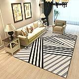 SunYe Moderne Minimalistische Wohnzimmer Couchtisch Teppich Schlafzimmer Nachttischmatten Büro Hotel Dicke rutschfeste M