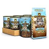 Wolfsblut | Cold River Nassfutter Mixpaket 6 x 395g + 500g + 225g | Trockenfutter | Hundefutter | Getreidefrei | Probierpaket