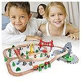 AAAHHH Parkgarage Und Parkhaus Für Kinder, Mit Looping Tracks Inkl. 2 Spielzeugautos, Ca. 42 * 10 * 31Cm Hoch, Ab 5 Jahren