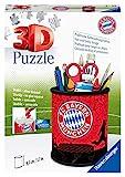 Ravensburger 3D Puzzle 11215 - Utensilo FC Bayern - 54 Teile - Stiftehalter für Fc Bayern München Fans ab 6 Jahren, Schreibtisch-Organizer für Kinder