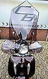 Windschild Getönt Roller Windabweiser-Windschutz Retroroller Motorroller Scooter