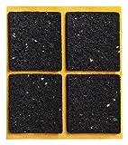 haggiy peha Anti-Rutsch-Pad (Rutschhemmer für Möbel, Sofas, Tische), selbstklebend, quadratisch 48x48 mm (4 STK.)