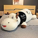 47-B Simulation Animal Puffvee Spielzeug, Abnehmbare Erwachsene Schlaf Umarmung Kissen, Daunen Baumwollgefüllte Tierkörperhalterung Kissen, Weihnachten Geburtstagsgeschenk