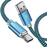 DUX DUCIS USB-C-Kabel, langlebiges, geflochtenes Nylon-Typ-C-Ladekabel mit Schnellladung, kompatibel für alle Samsung-USB-C-Geräte (1 m)