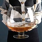 XiYou Extra großes Weinglas Bierglas mit großer Kapazität Weinglas, Champagnerglas (4000 ml)