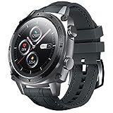 CUBOT Smartwatch C3, 1.3 Zoll Touchscreen FitnessTracker, 5ATM Wasserdicht Fitnessuhr, Rund BusinessArmbanduhr, Schrittzähler, IOS/Android kompatibel,für Herren,mit Ersatzarmband, G