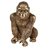 CREATE! by OBI Deko-Figur Gorilla Sitzend Safari Lodge 22 cm G