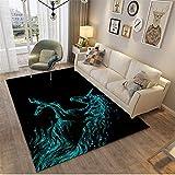 MMHJS Der Große Rechteckige Teppich Zu Hause Ist Luxuriös Und Elegant Frisch Und Komfortabel Und Für Den Gebrauch Im Wohnzimmer Geeignet 100x150