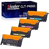 Sizzler CLT-P406C Toner Kompatibel für Samsung CLT-406S K406S P406S Toner für Samsung Xpress C460W C460FW C410W C460 CLX-3305 CLX-3300 CLX-3305FN CLX-3305W CLX-3305FW CLP-365 CLP-365W CLP-360 CLP-360N