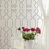 STENCILIT Royal Moorish Große Wandschablone zum Malen – XL 61 x 89,9 cm – Gitter-Wandmal-Schablonen – geometrische Schablonen für einen tollen Akzent W