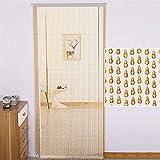 XHNXHN Wulstige Vorhänge aus Kunststoff Dekor Tür hängend Streicher-Panel Paravent Wohnzimmer Schlafzimmer, Anpassbare (Größe: 100x220cm-84 Stränge)