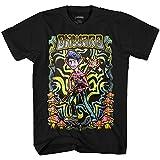 Disney Unisex-Kinder Onward Wizard Boys T-Shirt, Schwarz/Neon, XL