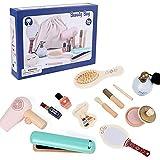 Ukuding 12 Stücke Kinderschmink Set Kosmetikkoffer Rollenspiel Spielzeug Schminkset Kinderfön Für Mädchen Prinzessin 3 Jahre Alt