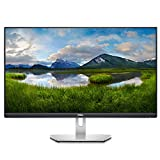 Dell S2721D, 27 Zoll, QHD 2560 x 1440, 75 Hz, IPS entspiegelt, 16:9, AMD FreeSync, 4 ms (extrem), neigbar, int.Lautspr., VESA, DisplayPort, HDMI, 3 Jahre Austauschservice, platinum silb