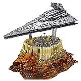 WANCHENG Sternenzerstörer und Weltraum City Bausteine Modellbausatz, 5473 Klemmbausteine Bausteine Sternenzerstörer, Kompatibel mit Lego