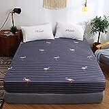NHhuai Matratzenschoner | Hygienische und atmungsaktive Matratzenauflage Tagesdecke Bett Rock Typ Bettdecke einteilig