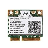 Richer-R Wifi Karte, 2,4 GHz + 5 GHz Dualband PCI-E Wireless Bluetooth 4.0 WLAN Karte,802.11A / B/G / N Mini PCI-e WLAN-Karte für die Meisten Desktop Notebook PC usw.