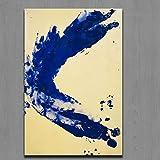Modern Leinwand Malerei Drucke Malerei Kunst Yves Klein Anthropometrie Prinzessin Helena Moderne Ölgemälde Druck Auf Wandkunst Bild Für Wohnkultur 50 * 75cm