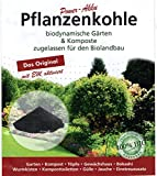 Lindkind 40 Liter Pflanzenkohle (2 Säcke) PremiumPlus500 gemahlen 0-5 mm biodynamisch gärtnern, fruchtbare Böden, zugelassen für den Biolandbau Erde Dünger Bodenleben verb