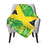 Decke für Babys, Jungen oder Mädchen, Jamaika-Thermo-Babydecke, Kleinkind-Schlafmatte, Bett-Decken-Überwurf, Reisedecke, Haustierdecke, Schlafdecke, 76 x 101 cm