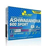 ASHWAGANDHA 600 SPORT   5% Withanolide   Bekämpft Stress & Angst   Senkt Cortisol   Schlafmittel (60 Kapseln)