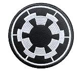 Antrix Galactic Empire Empire Target Taktische Applikation Verschluss Haken und Schlaufe Military Star War Galactic Empire Badge Morale Patch – Durchmesser 8,4