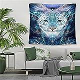 YYRAIN 3D Nordischen Stil Polyester Magie Tiger Wandteppich Wohnzimmer Schlafzimmer Wandteppich Wand Hintergrund Stoff Wandkunst 28.7x37.4 Inch {73x95cm}