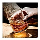 Whisky Gläser Scotch Gläsern altmodisch perfekte einzigartige Multi-Use-Wein-Dekanter Whisky-Gläser Perfektes personalisiertes Geschenk für Scotch-Liebhaber-Stil-Glaswaren für Bourbon-Rum 608