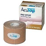 AcuTop PRO SPORT Kinesiology Tape, 5 cm x 5 m, beige