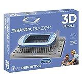 Eleven Force 10773 Estadio (Deportivo) Riazor Stadion-Puzzle, 3D-Motiv, bunt, Talla única